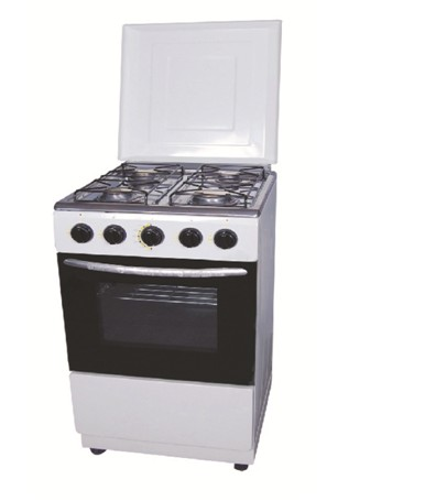 White Paiting 50 Series FreeStanding Oven