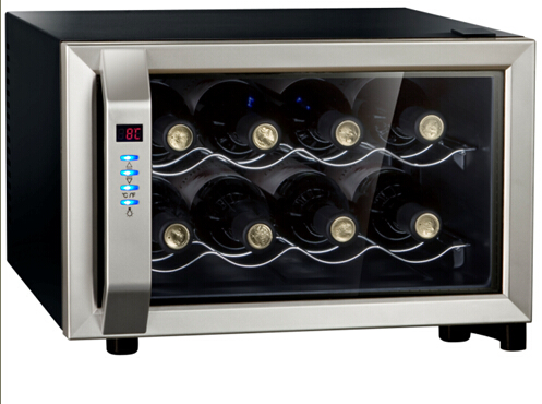 NS-WCS01 8 Bottles Thermoelectric cooling system wine cooler