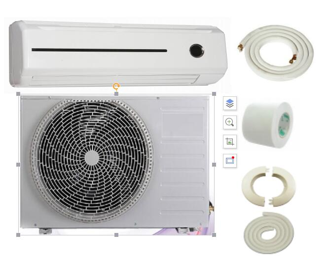 Home use split air conditioner 9000-30000BTU