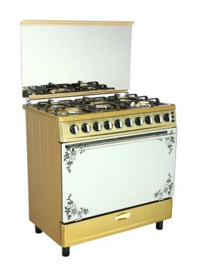 NS-FOT02 30inch freestanding oven with 6 burner stove.
