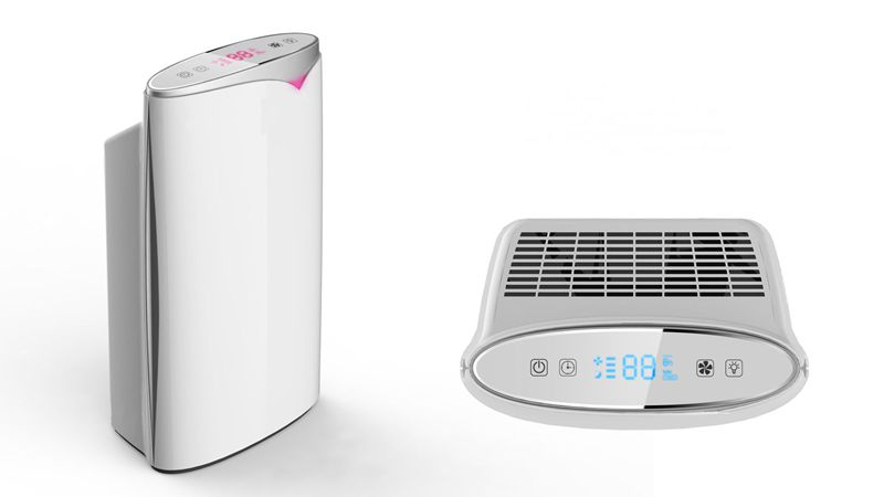 6-Stage Purifying Electric Air Purifier ABS Body